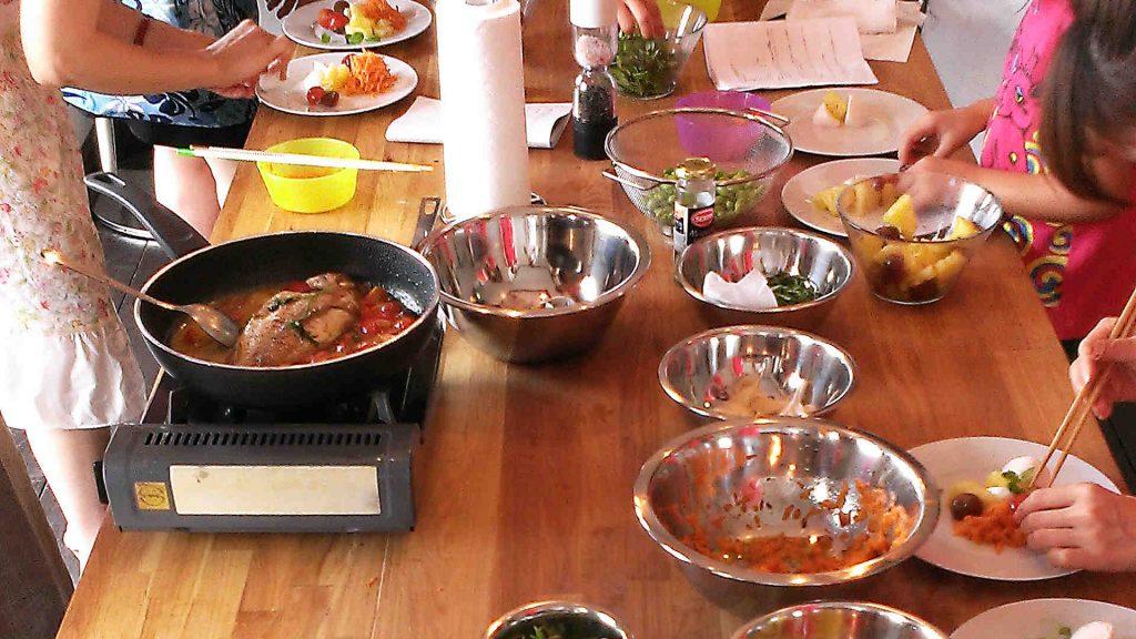 定期的に料理教室を開催したい